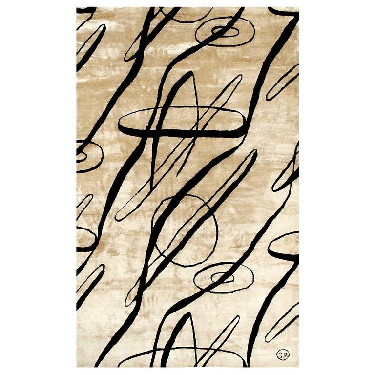 Serge Poliakoff the Silk Rugs of Sabine De Gunzburg Editions Tapis D Artiste