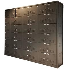 Vintage XL Industrial Cabinet by Mewaf, 1950s