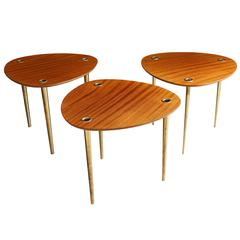 Set of Three Tables