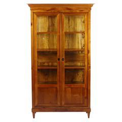 Biedermeier Period Glass Cabinet, France, circa 1830-1840