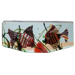 Cenedese Murano Glass Aquarium Object