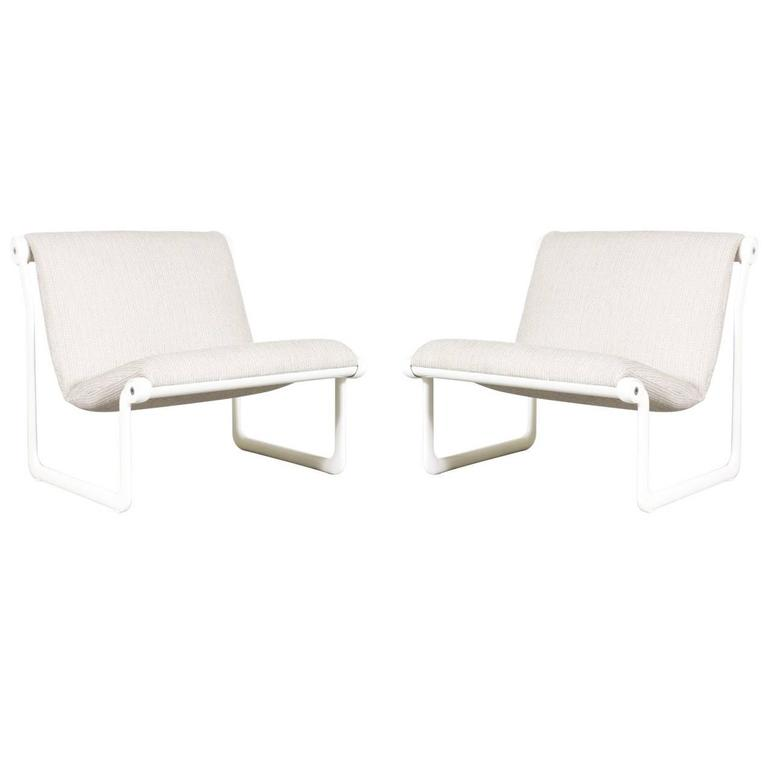 Hannah morrison sling lounge chairs for knoll at 1stdibs - Knoll inc chairs ...