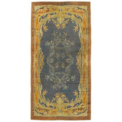 Antique Irish Donegal Rug