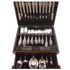 Labors of Cupid by Dominick & Haff Sterling Silver Flatware Set Service 112 Pcs