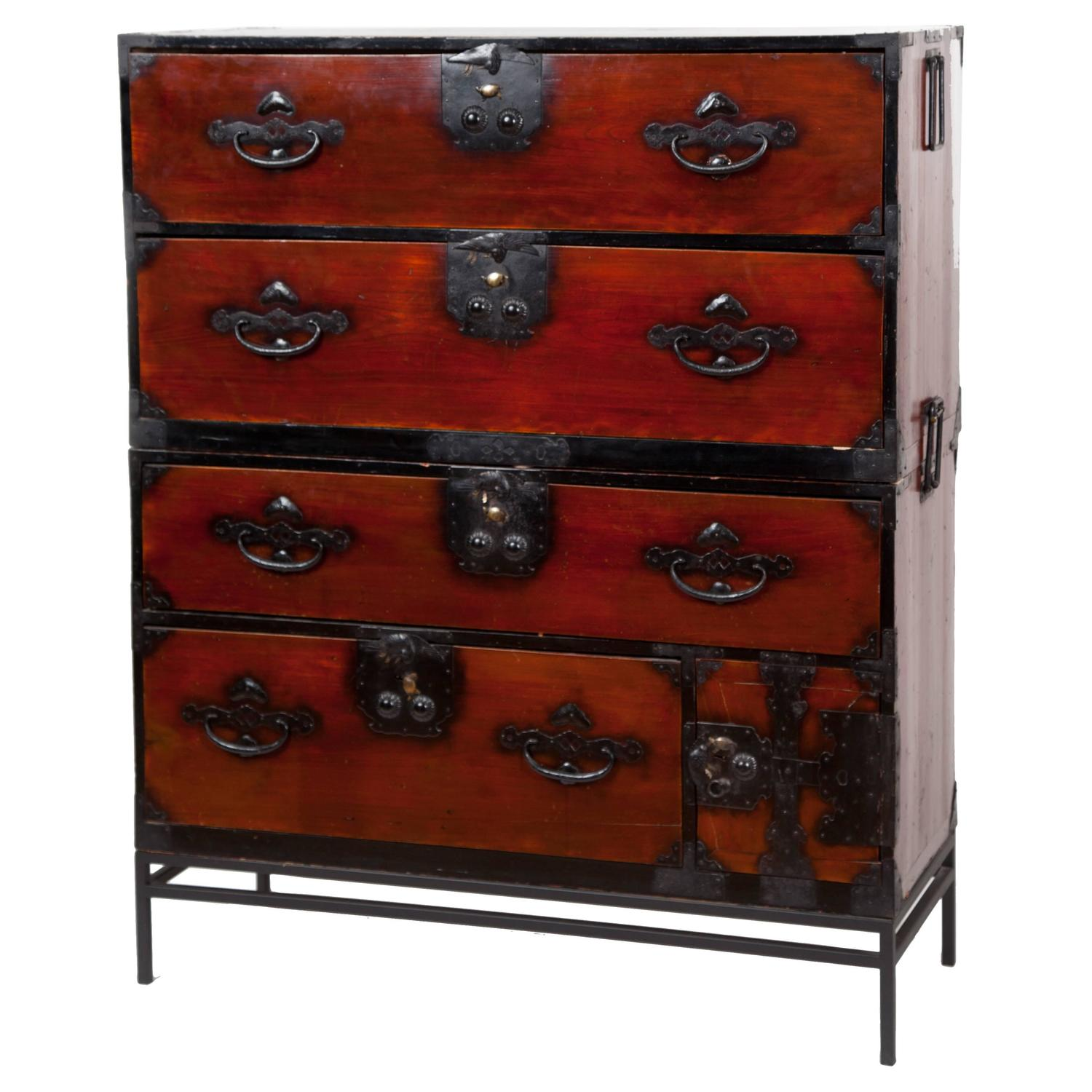 . Antique Japanese Tansu Chest For Sale at 1stdibs