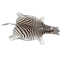 Zebra, Rug, Vintage