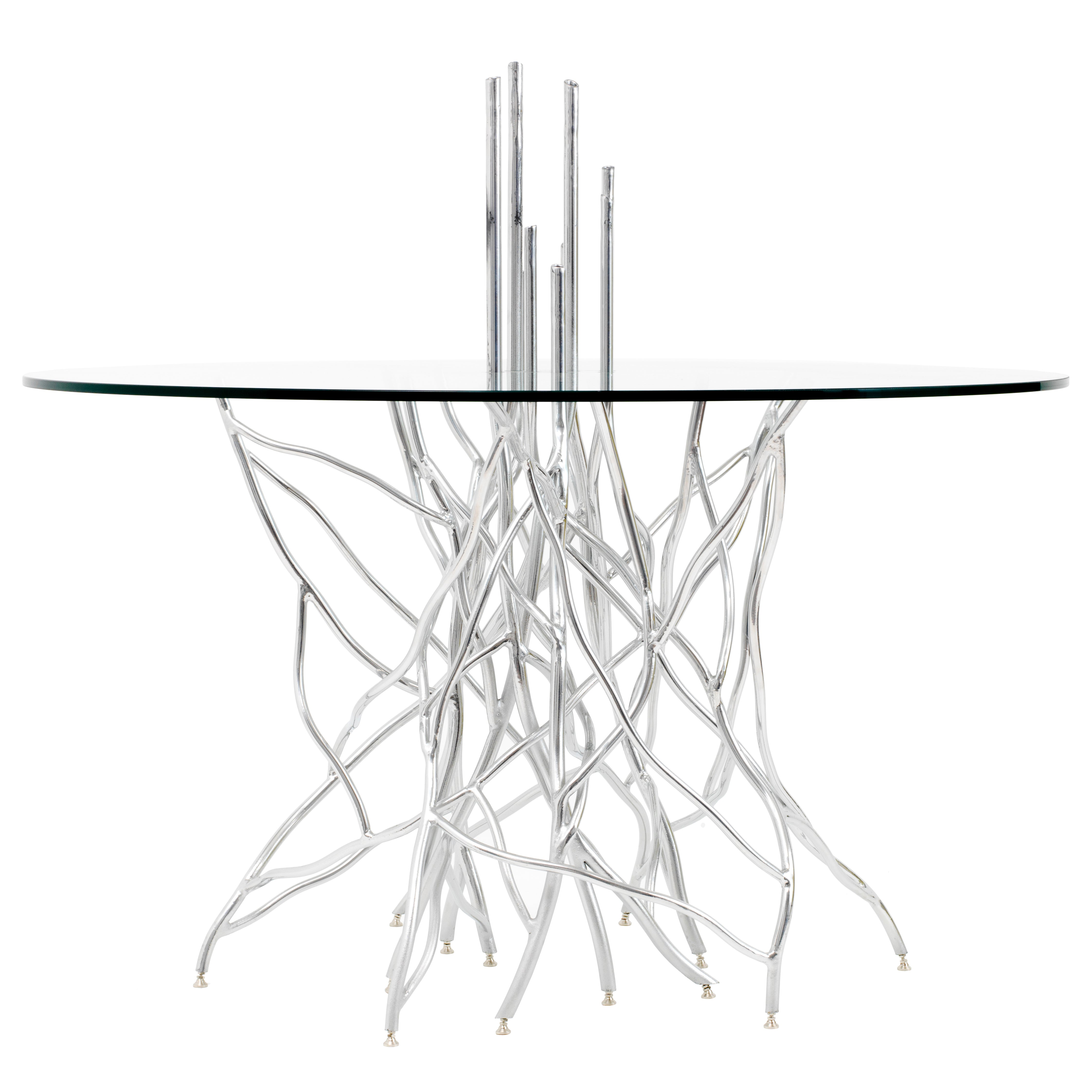 Torsion Dining Table - One-of-a-Kind Handcrafted by Mats Christeen
