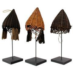Naga Unadorned Conical Hats