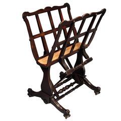 Late Regency Folio Stand or Print Rack