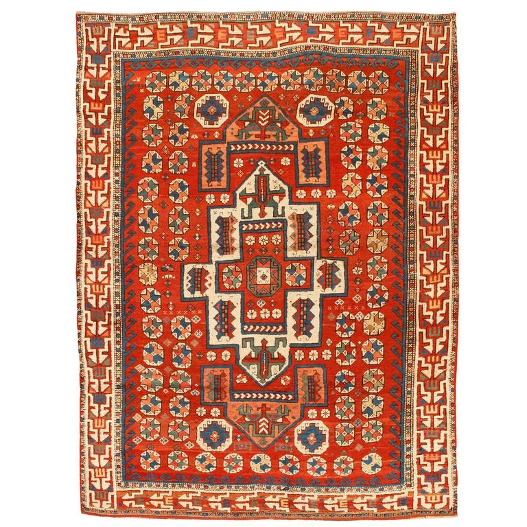 Antique 19th Century Turkish Bergama Rug For Sale At 1stdibs
