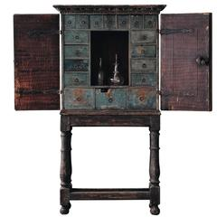 Swedish 18th Century Baroque Cabinet