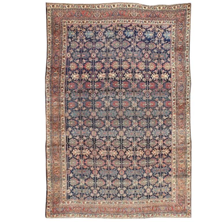 Large Antique Persian Bidjar Rug
