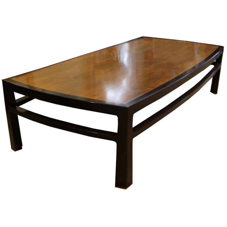 Monumental Signed Dunbar Coffee Table At 1stdibs