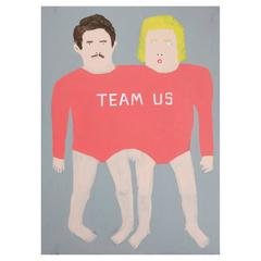 'Team Us' Portrait Painting by Alan Fears