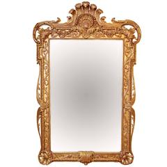Extra Large Full Length Gold Rococo Dress Mirror
