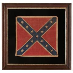 Confederate Parade Flag in the Southern Cross Battle Flag Format