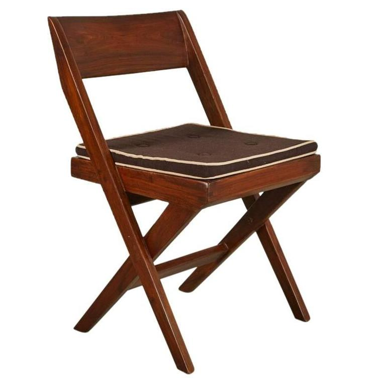 Pierre Jeanneret Library Chair For Sale