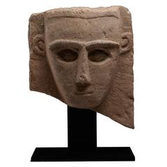 Ancient South Arabian Abstract Sculpture, 250 BC