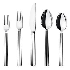 New Bernadotte by Georg Jensen Stainless Steel Flatware Set for Eight Service