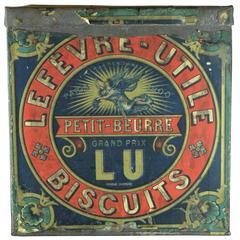 Keksdose LU Lefèvre-Utile, Frühes 20. Jahrhundert