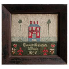 Folky Sampler, Dated 1849