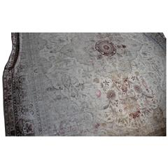 Antique Pale Indian Carpet