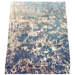 Modern Design Tibetan Carpet Silk and Wool
