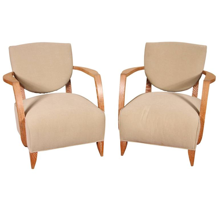 Mid Century Club Armchair Pair At 1stdibs