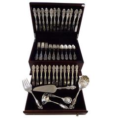 EL Greco by Reed & Barton Sterling Silver Flatware Service for 12 Set 65 Pcs