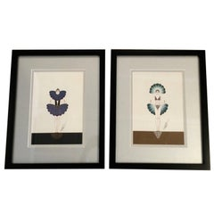 Pair of Limited Edition Erte Prints