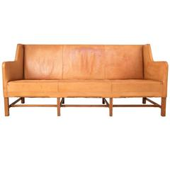 Leather Sofa by Kaare Klint