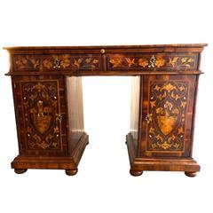 Exceptional Italian Inlaid Desk