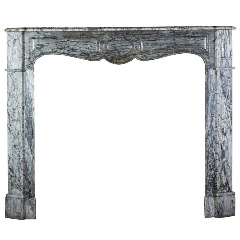19th Century Original Antique Fireplace Mantle