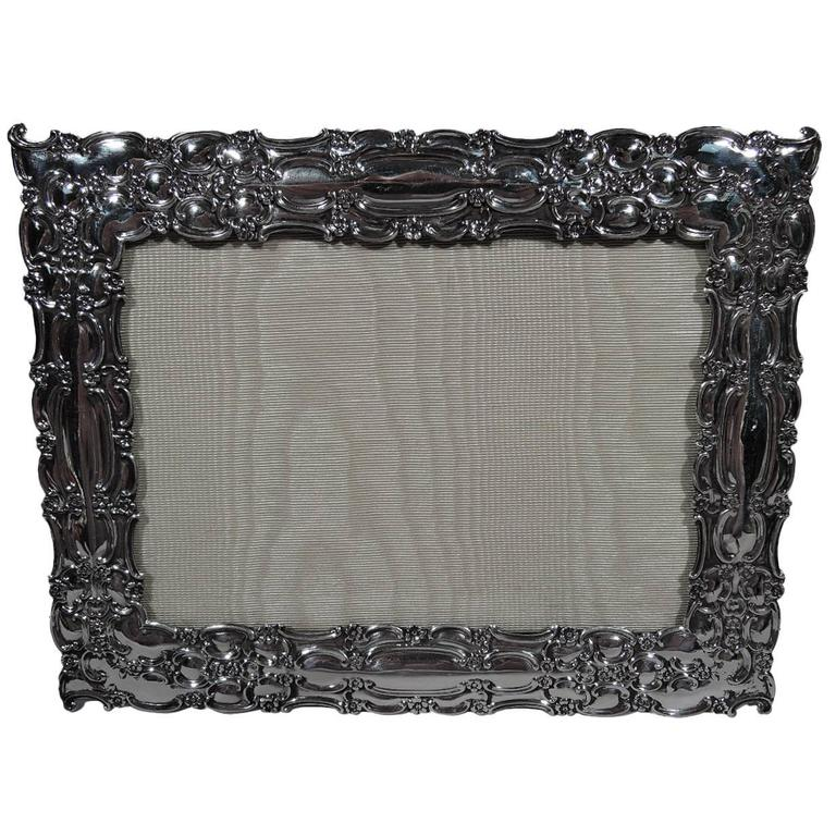 Antique Tiffany Sterling Silver Picture Frame For Sale At 1stdibs