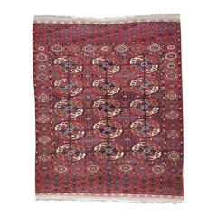 "Antique Turkmen ""Wedding"" Rug"