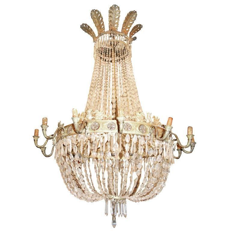 Exceptional Period Empire Chandelier 1