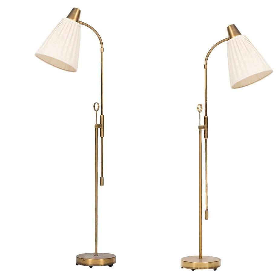 Pair of floor lamps produced by falkenbergs belysning ab in sweden at - Pair Of Floor Lamps Produced By Falkenbergs Belysning Ab In Sweden At 1stdibs