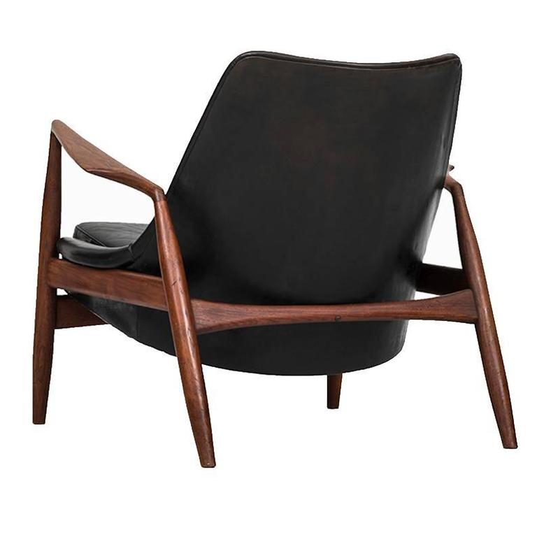 Ib Kofod-Larsen Seal Easy Chair Produced by Ope in Sweden