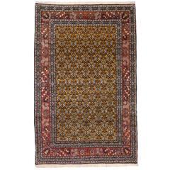 Vintage Turkish Tulip Hereke Rug