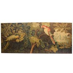 18th Century French Painting for a Tapestry Model