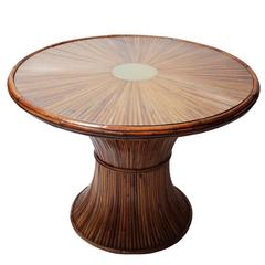 Bamboo Dining Room Table by Gabriella Crespi