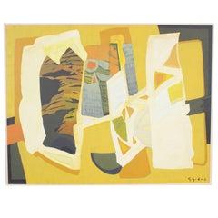 Gabriel Godard Abstract Oil on Canvas