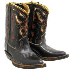 Salesman Sample Miniature Cowboy Boots