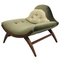 Mid-Century Gondola Style Chair
