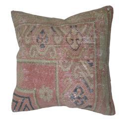 Pink Shabby Chic Khotan Rug Pillow