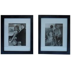 Pair of Original Dean Martin & Starlets Hollywood Studio Photographs