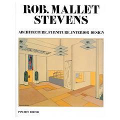 Rob Mallet Stevens, Architecture, Furniture, Interior Design, Book