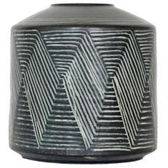 Impressive Stoneware Vase by Eva Stæhr Nielsen
