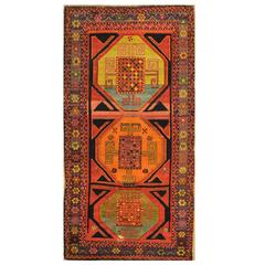 Small Hand-Knotted Turkish Rug