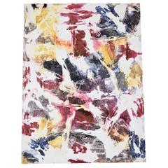 "Ricardo Rumi Acrylic on Canvas Titled ""Morning Walk,"" Dated 2008"
